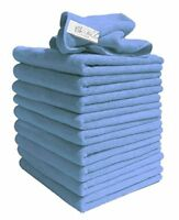 10 Lint Free Microfibre Exel Super Magic Cleaning Cloths For Polishing  Washing