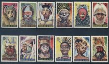 GUINEA*1965* compl.set 12 stamps*MNH** Masks - Mi.No 274-285