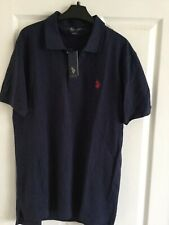 US Polo Assn Navy Blue  Polo Shirt Size M BNWT