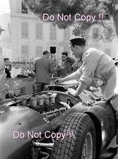 Ferrari mecánico & Lancia Ferrari D50 Grand Prix de Mónaco 1956 fotografía