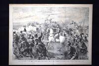 Volturno: Garibaldi scaglia le riserve in direzione di Capua e S. Angelo