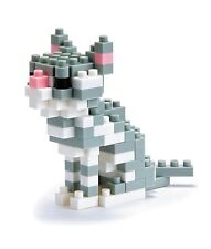 New American Shorthair Nanoblock Cat Building toy Nbc-032 Nip