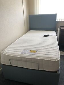 Motorised Electric Single Bed And Mattress. Never Been Slept In.