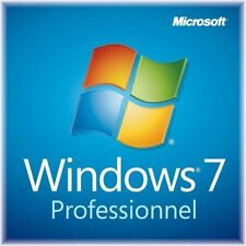 Windows 7 Professionnel SP1 64Bit - DVD + COA - Neuf / Français