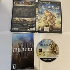 Final Fantasy XII PlayStation 2 Black Label Complete Authentic