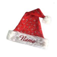 Cappello natalizio con nomi ricamato, Nikolaus natale babbo natale, per bambini