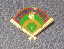 ☆ New 1985 Baseball Card Collector Pin National Convention (Topps Mickey Mantle)