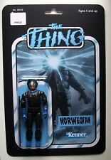 Custom made Norwegian 3 3/4 The Thing Vintage Style Horror Action Figure MOC