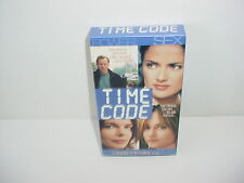 Time Code VHS Video Tape Movie Saffron Burrows Salma Hayek