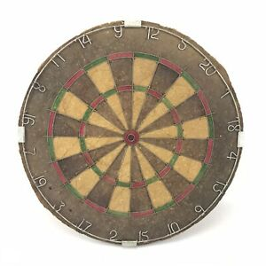 """Vintage Dart Board """" Bristle """" by Nodor - Made in England - Marketed by Dunlop"""