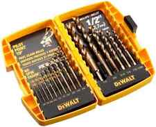 DEWALT Pilot Point 16-Piece Twist Drill Bit Assortment Home Power Tools, New
