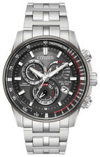 Citizen Eco-Drive Men's Radio Controlled Chronograph 43mm Watch AT4129-57H
