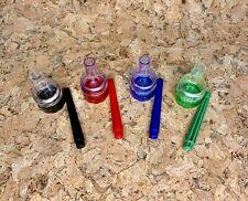 Smoking Accessories Cone Herb Grinder Roller Filler Funnel 3 Pc