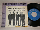 "ROLLING STONES - THE LAST TIME - RARO 45 GIRI 7"" ITALY 1965 PURPLE BEND"