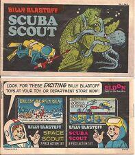 BILLY BLASTOFF SCUBA SCOUT V1 #2 1969 RARE PREMIUM MINI COMIC GIVEAWAY PROMO