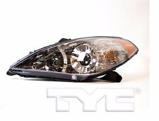 TYC Left Side Halogen Headlight Assembly For Toyota Solara 2004-2006 Models