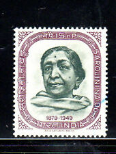 INDIA #385  1964  SAROJIMI NAIDU      MINT  VF NH  O.G  a