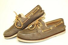 Sperry Top-Sider Gold Cup Mens 10.5 M Classic Leather 2-Eye Boat Shoes 0219493