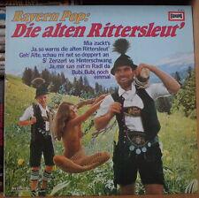 PETER STEINER BAYERN POP: DIE ALTEN RITTERSLEUT' SEXY NUDE COVER GERMAN PRESS LP