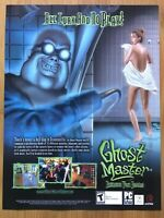 Ghost Master PC 2003 Vintage Video Game Print Ad/Poster Art Official Promo Rare!