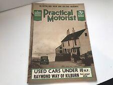 VINTAGE CAR JUNE 1939 MAGAZINE PRATICAL MOTORIST TALBOT 3TLR SALOON VSCC