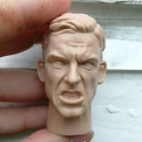 Blank 1/6 Scale The Shout World War II Military Officer Head Sculpt Unpainted