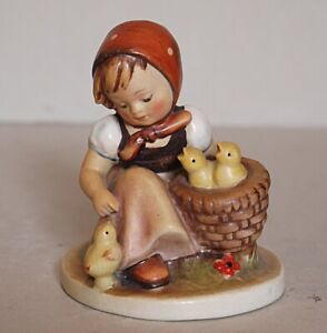 Hummel - Chick Girl - # 57 - Incised Crown and full bee mark