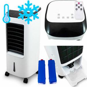 Mobiler Standventilator Ventilator Lüftkühler Schwenkbar Wasserkühlung