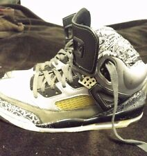 "2008 NIKE Air Jordan Retro Spizike ""Cool Grey' Stealth/Black/White"