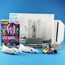 Nintendo Wii Konsole OVP ► 2x Remote 2x Nunchuck Neu ►Just Dance 4
