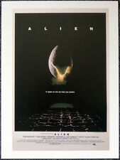 ALIEN 1979 FILM MOVIE POSTER PAGE . RIDLEY SCOTT SIGOURNEY WEAVER . V31