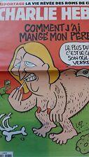 CHARLIE HEBDO N°1186 15 AVRIL 2015 LE PEN: COMMENT J'AI MANGE MON PERE/ LES ROMS