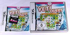 """Nintendo DS GIOCO """"Yeti quest la pinguini locali su"""" COMPLETO"""