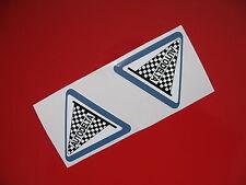 AUTODELTA Classica Auto Da Corsa Adesivi Sticker/Decalcomania x2