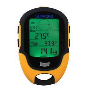 Digital GPS Navigation Tracker  Receiver Compass Locator For Hiking Climbing New