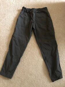 Athleta Dark Olive Trekkie Paper Bag Waist Pants 4P