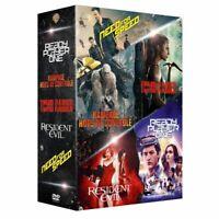 😍COFFRET 5 DVD ISSUS FILM JEU VIDEO RESIDENT EVIL NEUF BLISTER WARNER BROS 😍
