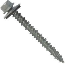 """METAL ROOFING SCREWS: 2-1/2"""" Long (250) Galvanized Zinc Sheet Metal Roof Screws"""