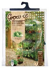 4 Tier Growhouse Greenhouse Reinforced Replacement Cover PVC Cover by Gardman