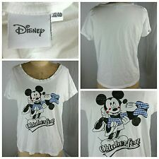 Oktoberfest Vintage Disney Mickey Minnie Mouse KissingT Shirt Size EUR 38/40 (C)