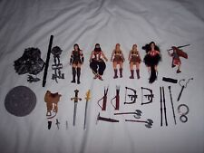 Lot of Xena Warrior Princess & Gabrielle ~ Figures, Accessories