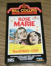 VHS Movie - Bill Collins Movie Collection: Rose Marie