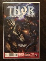 Thor God of Thunder 22 High Grade, Donny Cates, Galactus, Silver Surfer, Marvel