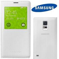 GENUINE S-View Flip Cover For Samsung Galaxy S5 Luxury Premium Original Case