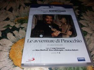 """box+2 dvd nuovo """"LE AVVENTURE DI PINOCCHIO""""- I GRANDI SCENEGGIATI RAI Vers Italy"""