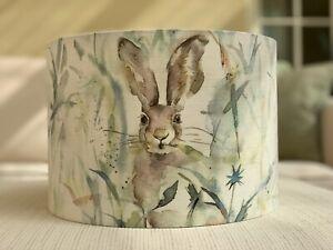 Handmade Lampshade Voyage Maison Jack Rabbit Fabric, Countryside, Wildlife