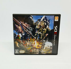 Nintendo 3DS - Monster Hunter 4G Ultimate Capcom Versión Japan Japanese