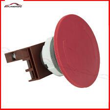 1pcs Red 65mm Mushroom Emergency Stop Shut Off Push Button Switch 10a Nc Cnc Usa