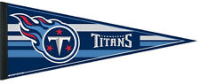 Tennessee Titans Football Team NFL Pennant WinCraft Newest Style Pennant 2016