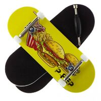 Yellow Peoples Republic P-REP Fingerboard CNC Lathed Bearing Wheels